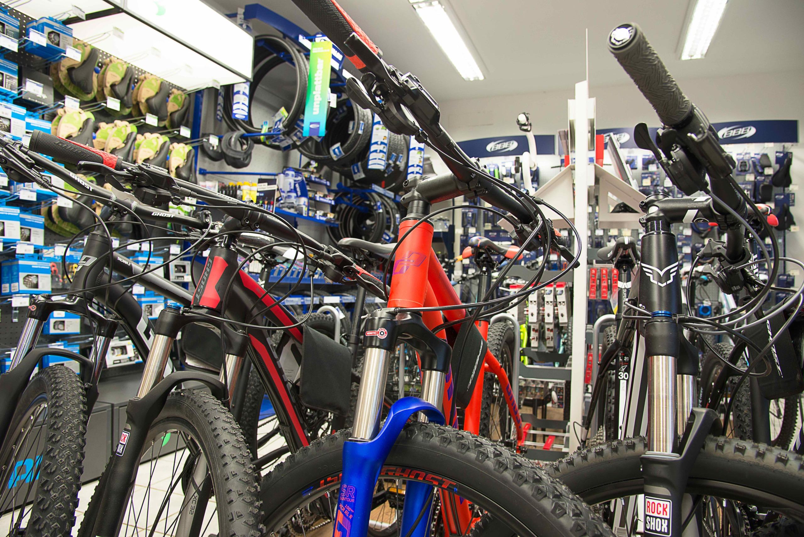 Bikestation Freising _ GHOST Rahmen