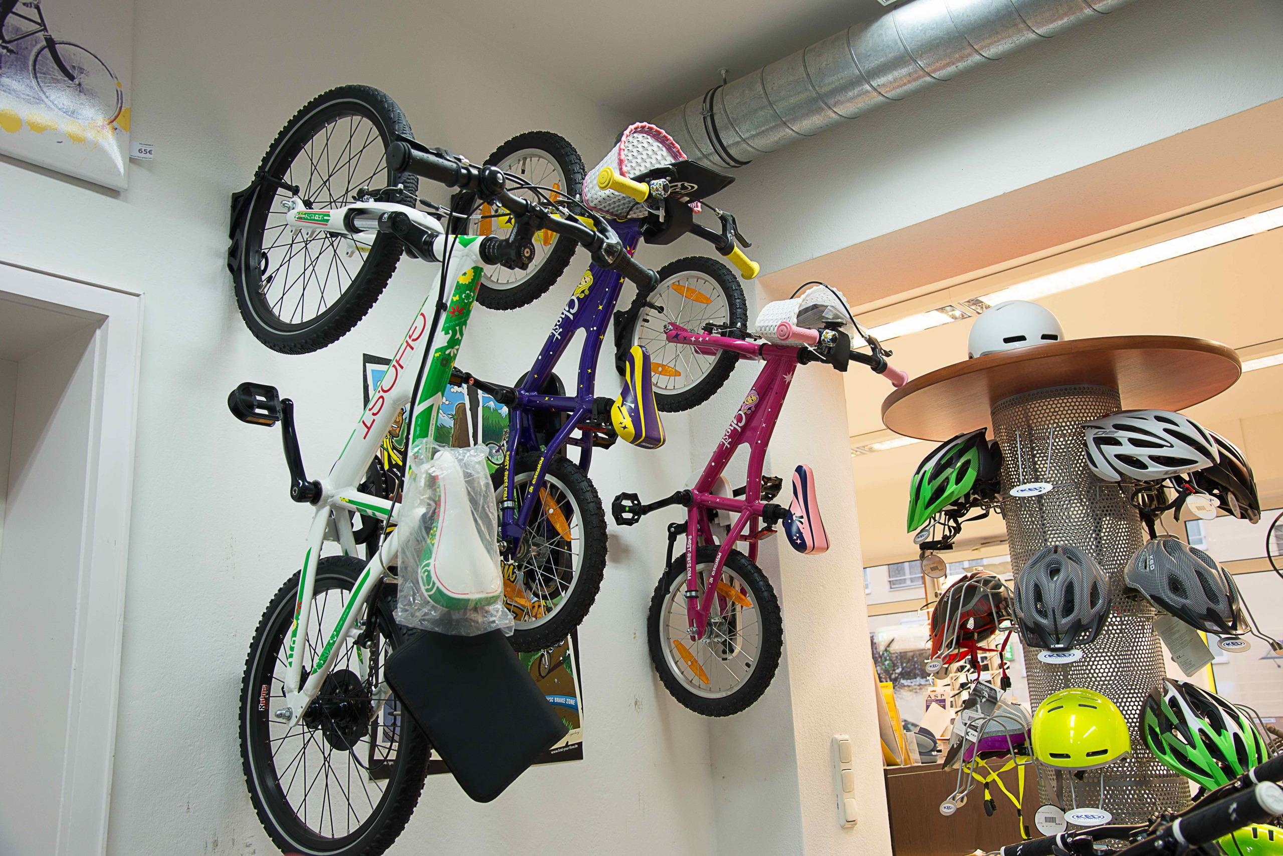 Bikestation Freising _ Kinderfahrräder