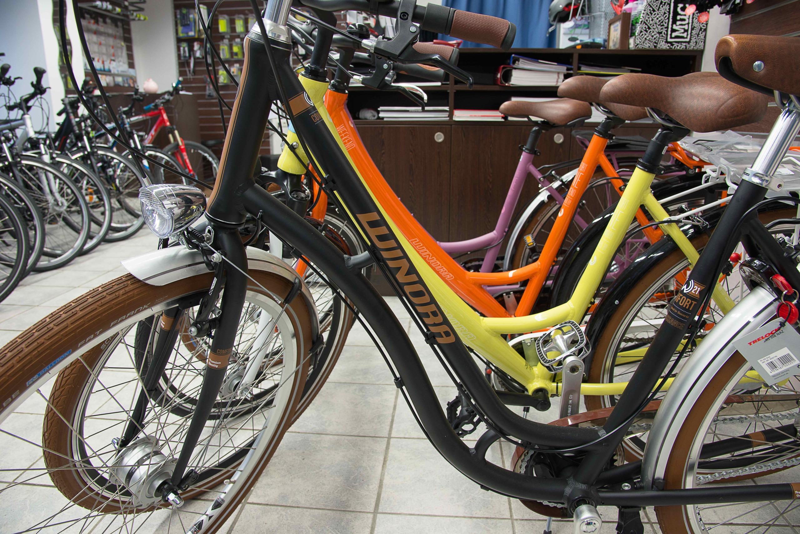 Bikestation Freising _ Marke winora
