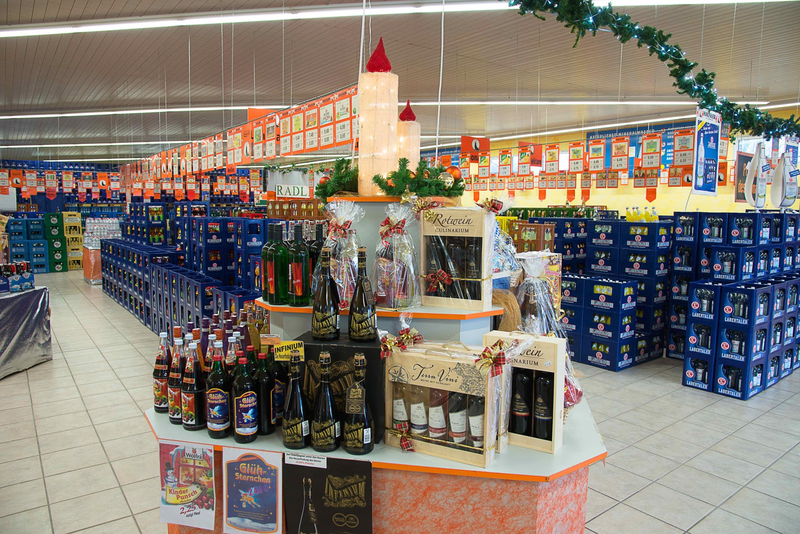 Hausler Getränkemarkt _ Geschenke