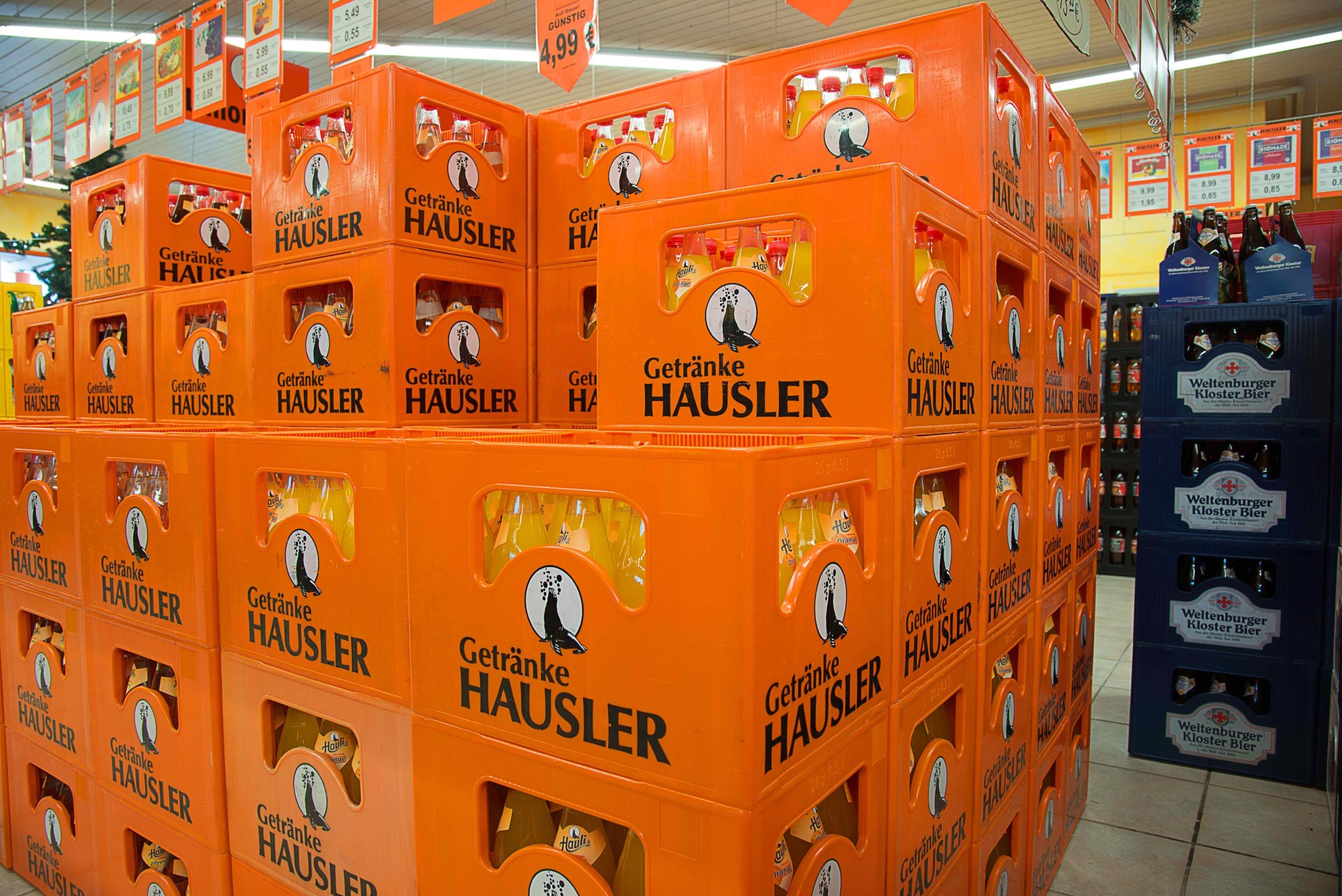 Hausler Getränkemarkt _ Hauli Orangenlimonade